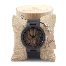 Load image into Gallery viewer, C24 Bamboo Wooden Watch Japan Movement