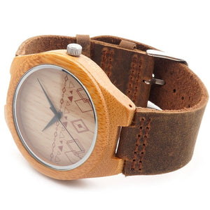 Handmade Bamboo Wooden Watch Japanese