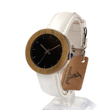 Load image into Gallery viewer, J01 Classic Women's Bamboo Wood Watch