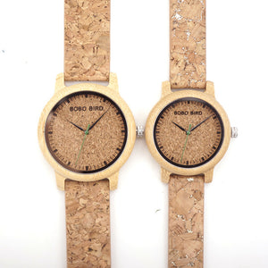 M12 Bamboo Wood Quartz Watch For Men And