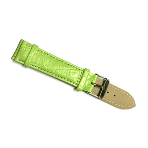 bamboo grain leather strap 12MM, 14MM, 16MM, 18MM, 20MM, 22MM, 24MM