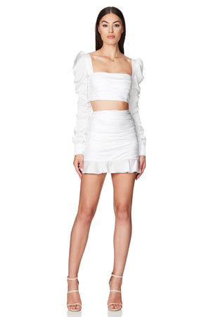Nookie Cooper Crop and Skirt