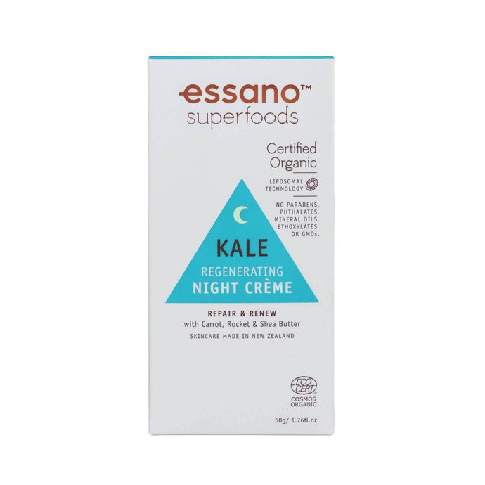 Superfoods Certified Organic Kale Regenerating Night Crème