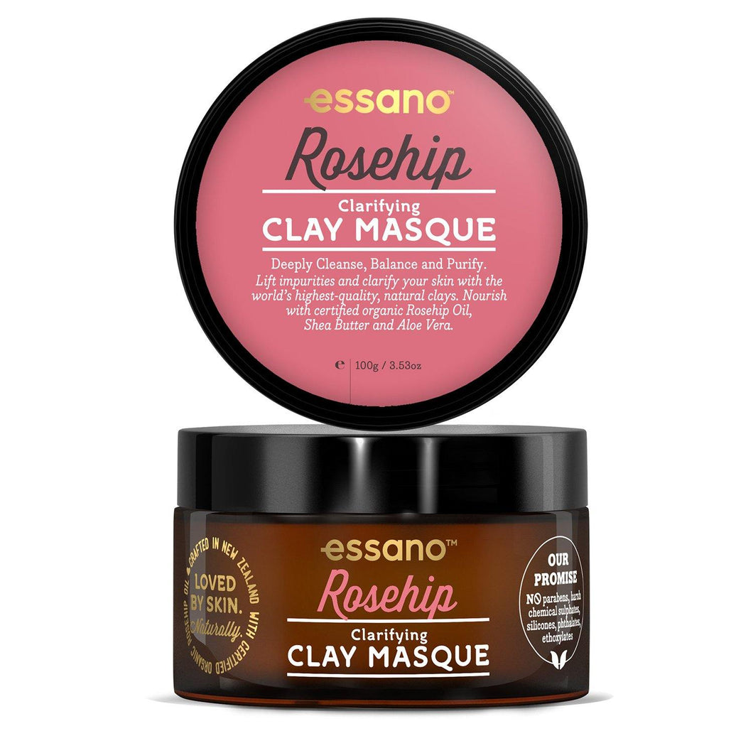 Rosehip Clarifying Clay Masque