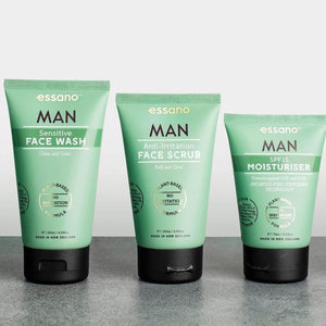 essano Man Anti-Irritation Face Scrub