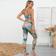 Load image into Gallery viewer, Jungle set top & legging