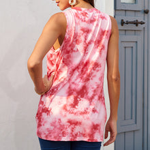 Load image into Gallery viewer, Tie-Dye casual long cami top