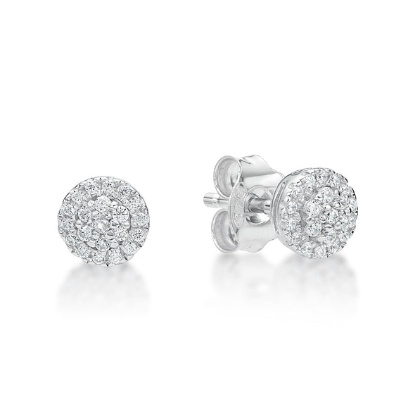 Cubic Zirconia Earrings  CJS 04