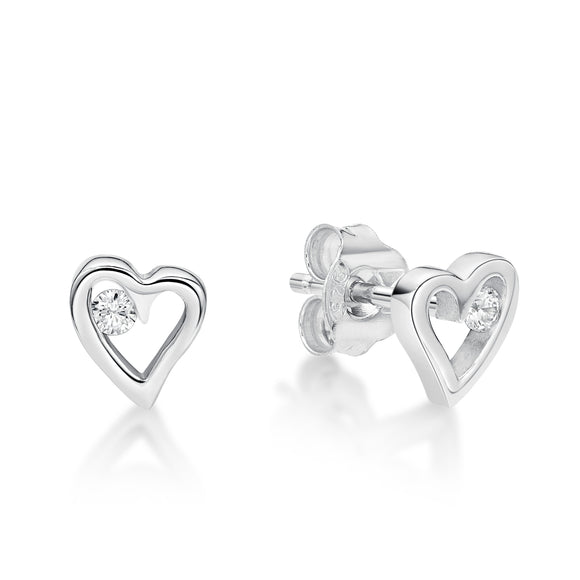 Heart Earrings   CJS 43