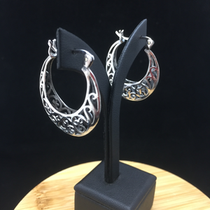 Silver Earrings   E52