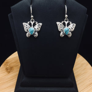Silver Earrings                 E120