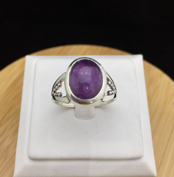 Amethyst Ring   STR 38