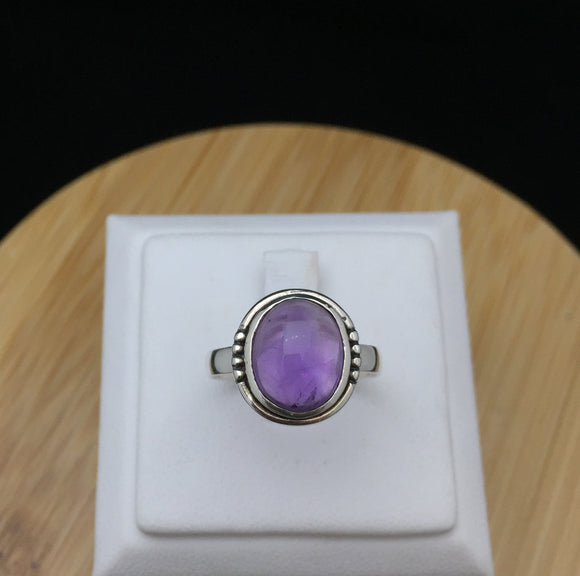 Amethyst Ring   STR 37