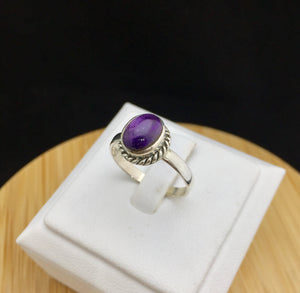 Amethyst Ring   STR 72