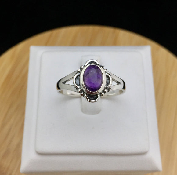 Amethyst Ring   STR 28