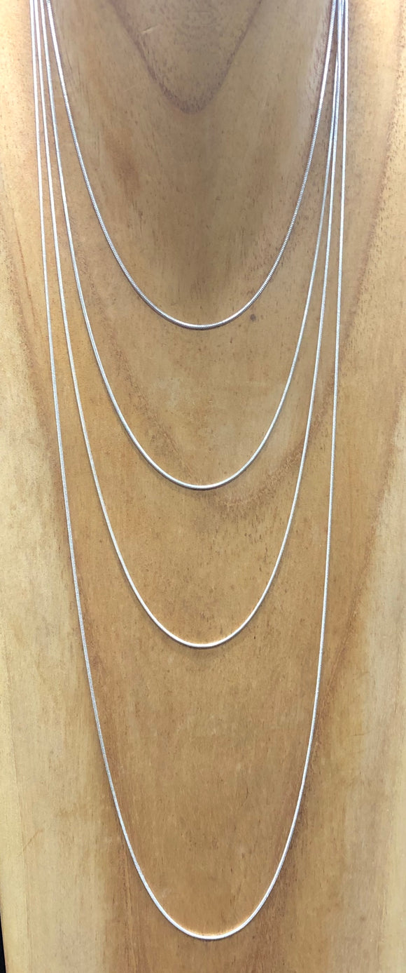 Silver Snake Chain 1.2mm