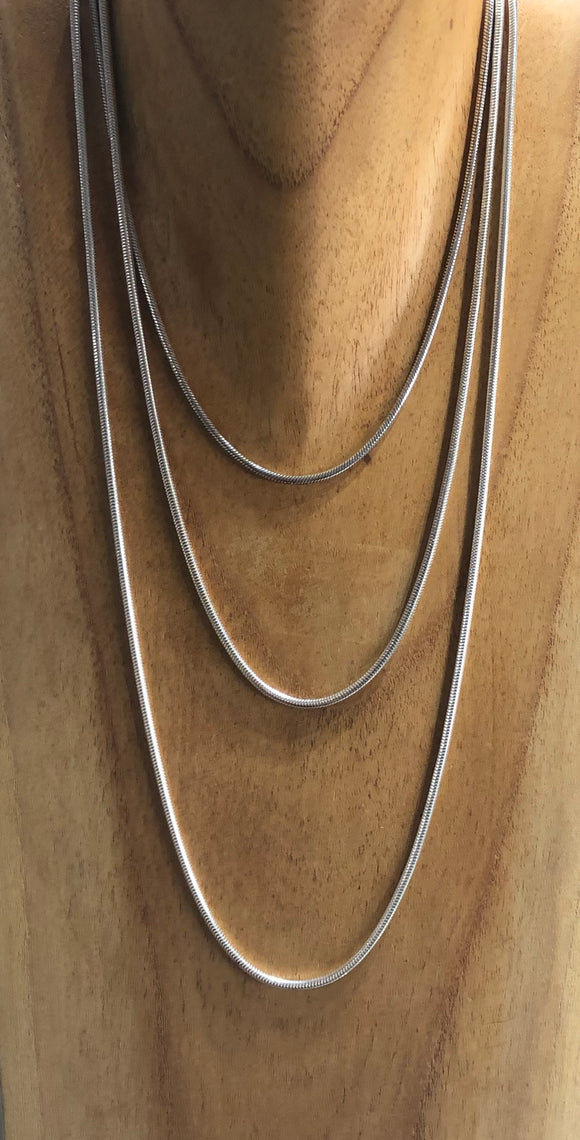 Silver Snake Chain 2.5mm