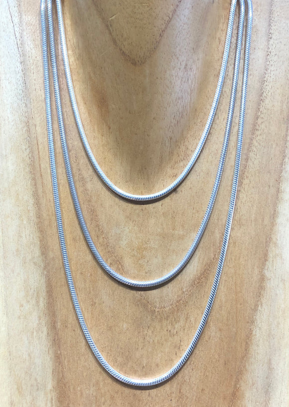Silver Snake Chain 3mm
