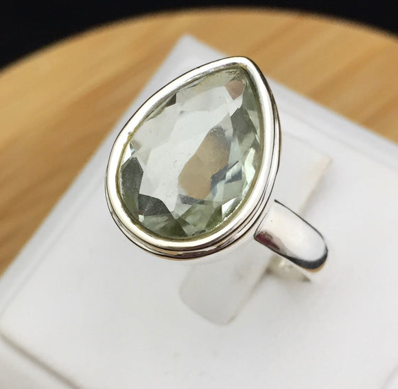Green Amethyst Ring    GAMR 02