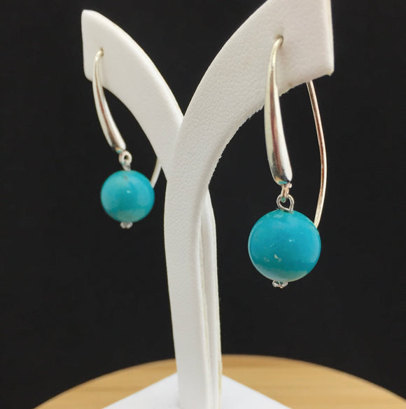 Turquoise Earrings   TURE 16