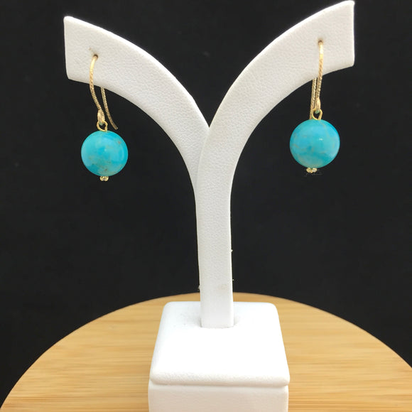 Turquoise Earrings   TURE 17