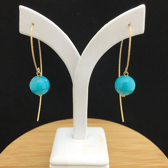 Turquoise Earrings   TURE 18