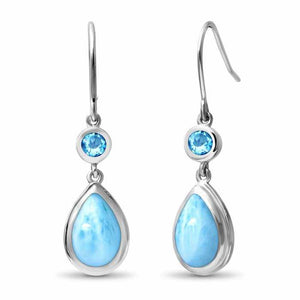 "Marahlago ""Atlantic Pear"" Earrings"