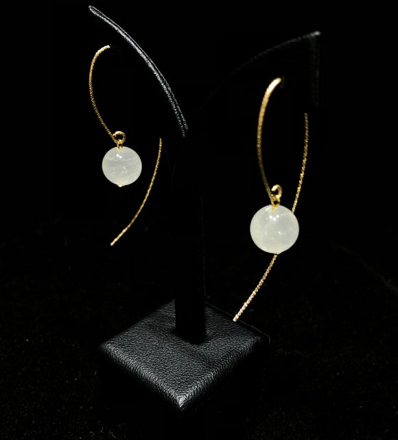Moonstone Earrings              MSE 21
