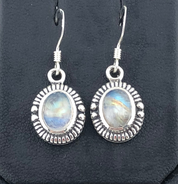 Moonstone Earrings               MSE 09