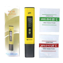 Load image into Gallery viewer, Digital PH TDS Meter