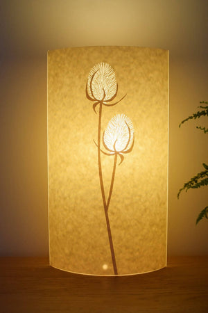 Tall Oval Teasel Table Lamp