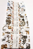 Wildlife 100% Cotton Tea Towel