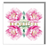 Happy Birthday Beautiful Card (6pcs)