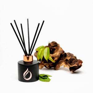 Aromatherapy 'Breathe' Black Room Diffuser