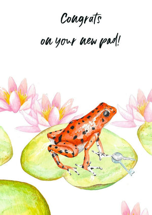 Greeting Card - New Pad