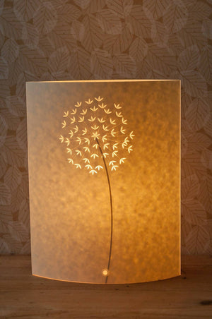 Tall Oval Allium Table Lamp
