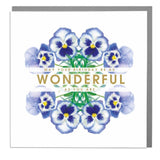 Wonderful Birthday Card (6pcs)