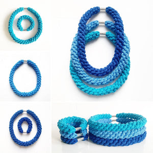 Woven Cotton Bracelets For Christmas Gifts And Stocking Fillers