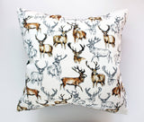 Stag Cushion - Medium