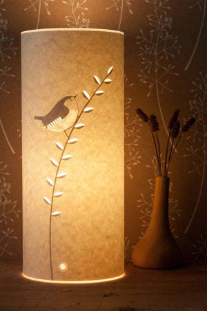Small Cylindrical Wren Table Lamp