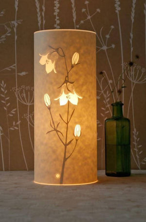 Tall Cylindrical Harebell Table Lamp