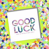 Good Luck Card (6pcs)