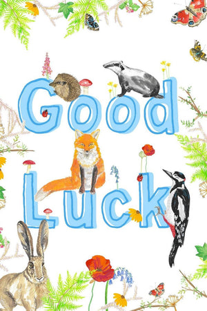Greeting Card - Good Luck