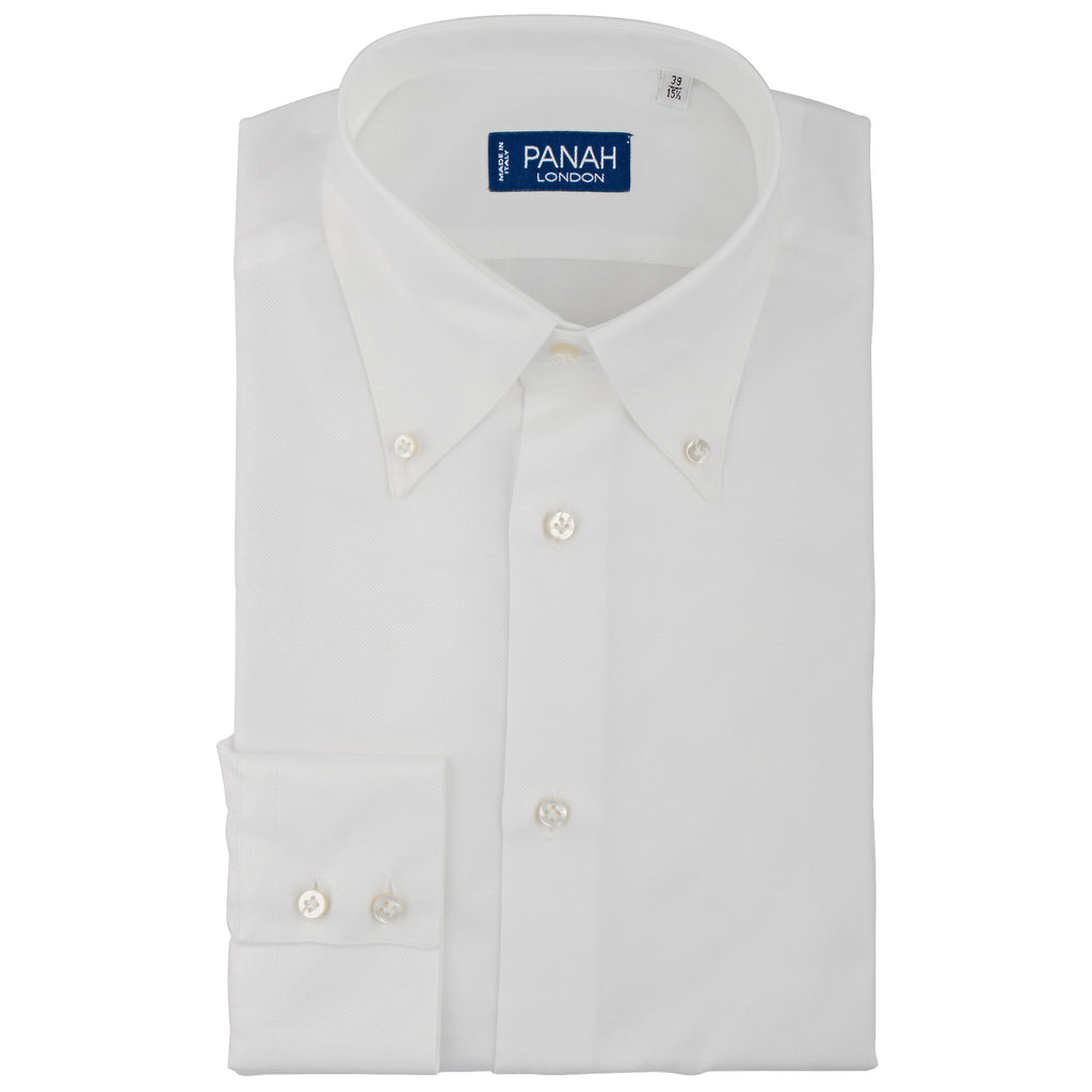 White Oxford Shirt  | Panah London