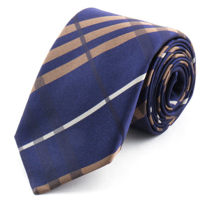 Royal Stripe Silk Tie | Panah London