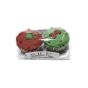 Christmas Mini Cupcakes 2-pack