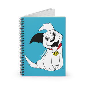 Baduko wags his Tail! Spiral Notebook