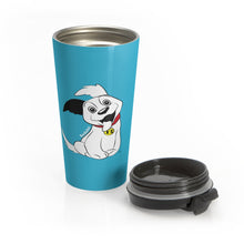 Load image into Gallery viewer, Baduko Stainless Steel Travel Mug Light Blue