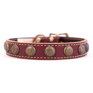 Lake Country Sunburst Collar Burgundy
