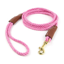 Load image into Gallery viewer, Cotton Rope Leash - for Small Dogs